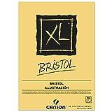 Bloc Dibujo Canson Xl Bristol Din A4 Extraliso Encolado 21x29,7 Cm 50 Hojas 180 Gr