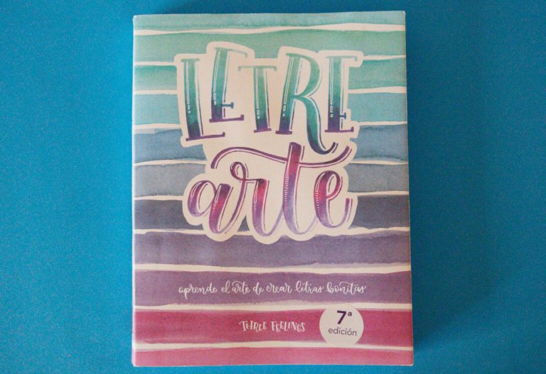 Libro LetreArte – Three Feelings ¡El Mejor libro para aprender Lettering!