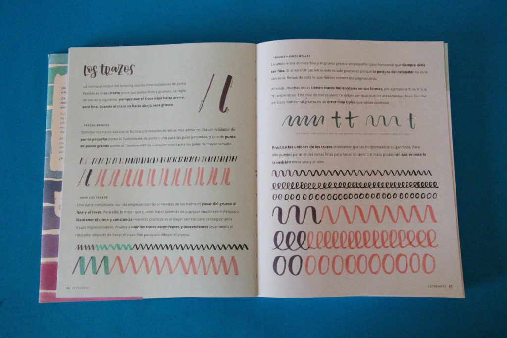 libro tutorial de lettering