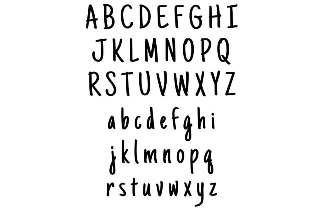 abecedario de letras bonitas para imprimir