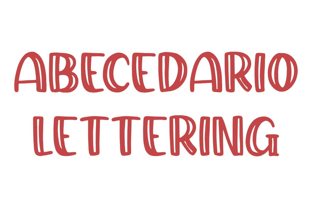 abecedario lettering